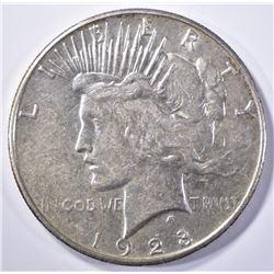 1928-S PEACE DOLLAR, AU