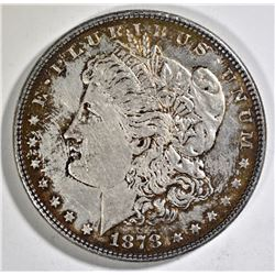 1878 7/8TF MORGAN DOLLAR AU TONED