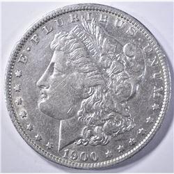 1900-O/CC MORGAN DOLLAR  CH AU