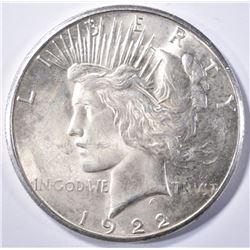1922-S PEACE DOLLAR CH BU