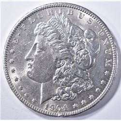 1904 MORGAN DOLLAR  BU RIM BUMPS