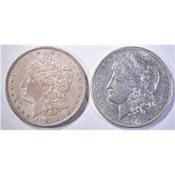 1904 & 1904-O AU MORGAN DOLLARS