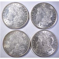 2-1921 & 2-21-D CH BU MORGAN DOLLARS
