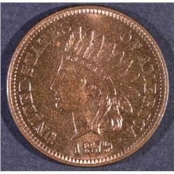 1879 INDIAN CENT GEM PROOF RB