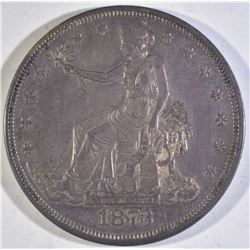 1873 TRADE DOLLAR BU