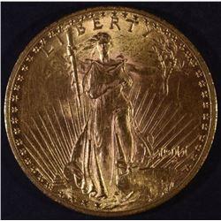 1911 $20 GOLD ST. GAUDENS CH BU