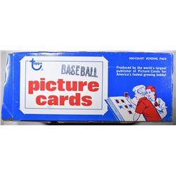 1981 TOPPS BASEBALL 500 COUNT VENDING PACK
