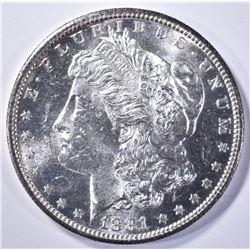 1881-S MORGAN DOLLAR CH BU PL