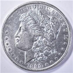 1899 AU KEY DATE MORGAN DOLLAR