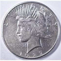 1927-S PEACE DOLLAR  BU
