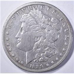 1889-CC MORGAN DOLLAR  VF