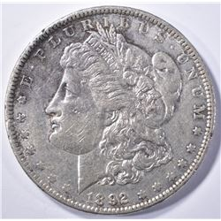 1892  MORGAN DOLLAR, AU