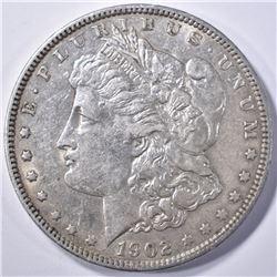 1902 CH BU MORGAN DOLLAR