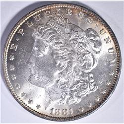 1881 MORGAN DOLLAR GEM BU