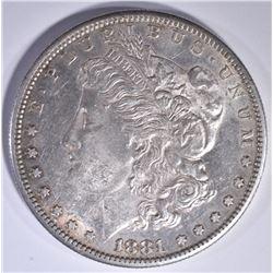 1881-S MORGAN DOLLAR CH BU