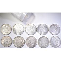 (10) 1921 CH BU MORGAN DOLLARS