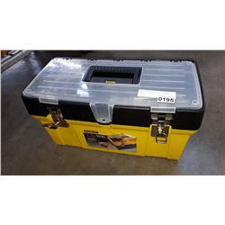STANLEY TOOLBOX WITH CONTENTS