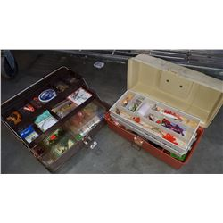 2 TACKLE BOXES WITH CONTENTS