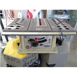 AMSCO POWER TABLE SAW