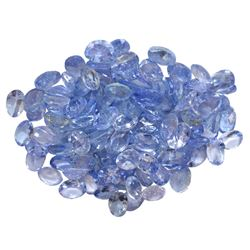 15.95 ctw Oval Mixed Tanzanite Parcel