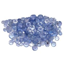 10.84 ctw Round Mixed Tanzanite Parcel