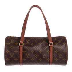 Louis Vuitton Monogram Canvas Leather Vintage Papillon 26 cm Bag