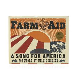 Signed Copy of Farm Aid: A Song for America by Foreword By Willie Nelson