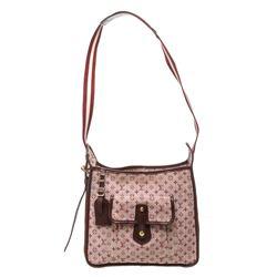 Louis Vuitton Burgundy Mini Monogram Canvas Leather Besace Mary Kate Crossbody B