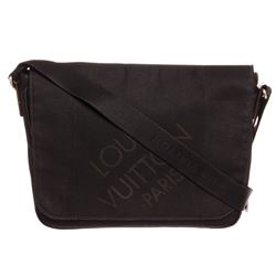 Louis Vuitton Black Damier Geant Canvas Leather Petit Messenger Bag