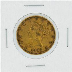 1903-S $10 XF Liberty Head Eagle Gold Coin