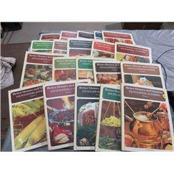 20 VOLUME SET ENCYCLOPEDIAS (BETTER HOMES & GARDENS COOKING) *1973*