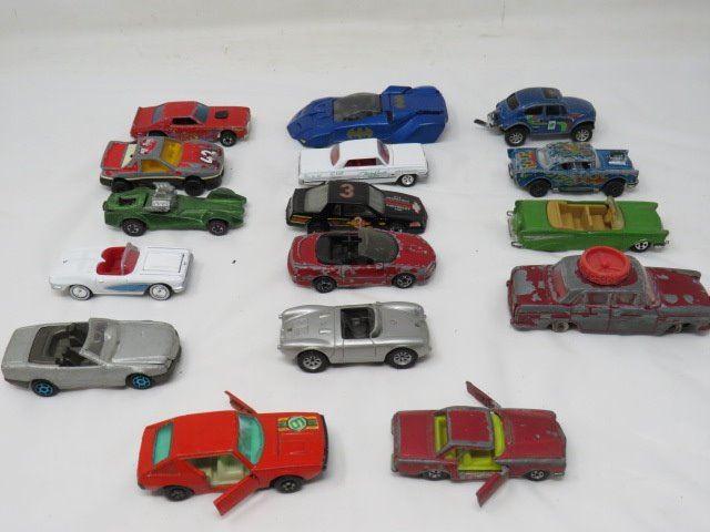 Vintage Toy Car Lot Hotwheels Maistro Majorette