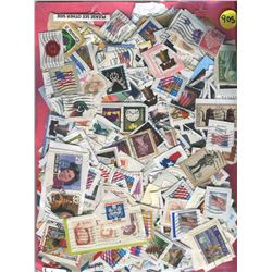 LARGE LOT OF ASSORTED WORLD STAMPS