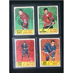 1967 TOPPS HOCKEY CARD LOT