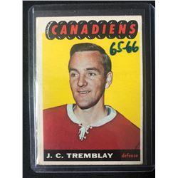 1965 Topps Hockey #69 J.C Tremblay