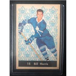 1961-62 Parkhurst #15 Bill Harris