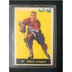 1960 Parkhurst #39 Albert Langlois