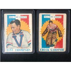 1960 TOPPS HOCKEY CARD LOT