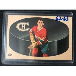 1962-63 Parkhurst Montreal Canadiens Hockey Card #52 Lou Fontinato