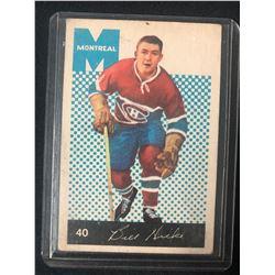 1962-63 Parkhurst #40 Bill Hicke