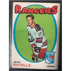 1971-72 O-Pee-Chee Jean Ratelle #97