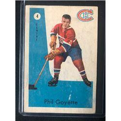 1959-60 PARKHURST #4 Phil Goyette