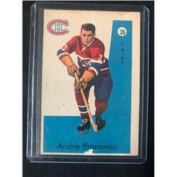 1959-60 Parkhurst #35 Andre Pronovost