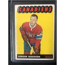 1965-66 Topps #9 Gordon Berenson
