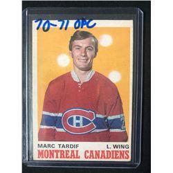 1970-71 O-Pee-Chee #179 Marc Tardiff RC