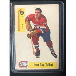 1958 Parkhurst #41 Jean Guy Talbot