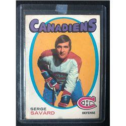 1971-72 O-Pee-Chee #143 Serge Savard