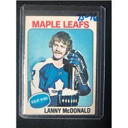 1975-76 NHL O-Pee-Chee # 23 Lanny McDonald