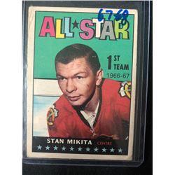 1967-68 Topps #126 Stan Mikita 1ST Team All-Star