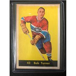 1960-61 Parkhurst #43 Bob Turner